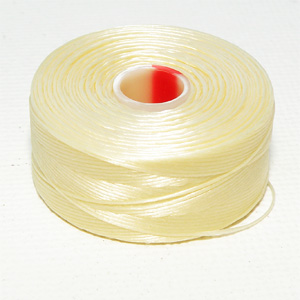 "S-Lon Bead Thread stl D ""Cream"""