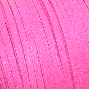 Syntetiskt mockaband cerise 3 mm